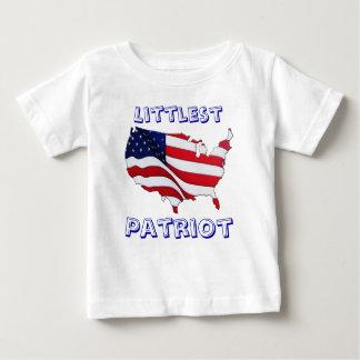 Bebés y ropa patriótica de los niños camisetas