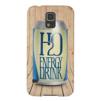 bebida de la energía de h2o funda de galaxy s5