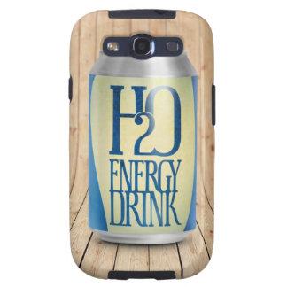 bebida de la energía de h2o samsung galaxy s3 protector