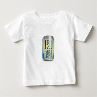 bebida de la energía de h2o playeras