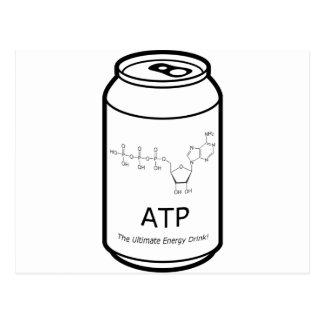 Bebida de la energía del ATP Postales