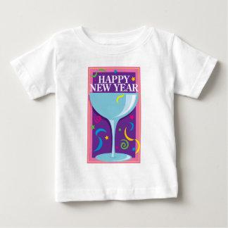 Bebida de la Feliz Año Nuevo Playera Para Bebé