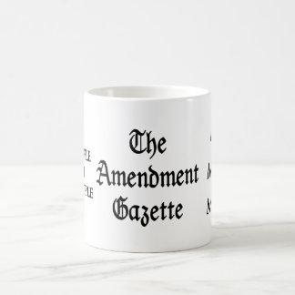 Bebida de la gaceta de la enmienda taza