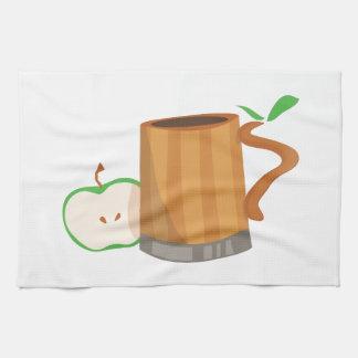 Bebida de la sidra toallas de cocina