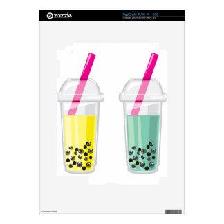 Bebida de la tapioca iPad 2 skins