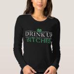 'Bebida del día de St Patrick divertido encima de Poleras