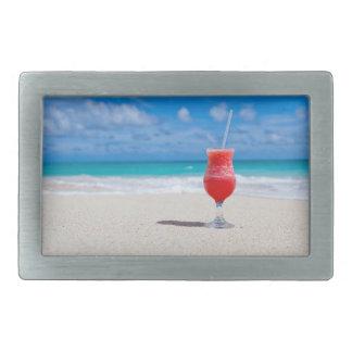 Bebida en la hebilla del cinturón de la playa hebillas cinturon rectangulares