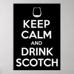 Bebida escocesa poster