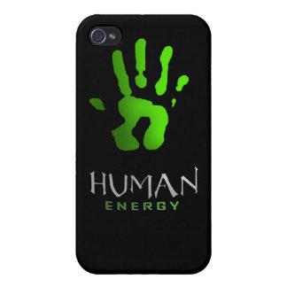 Bebida humana de la energía iPhone 4 cobertura