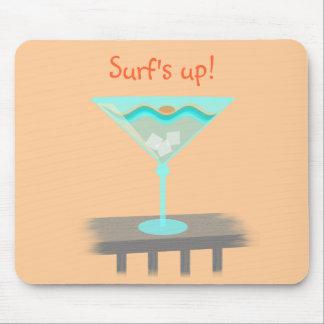 Bebida Mousepad de la playa Alfombrillas De Raton
