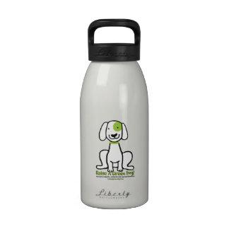 ¡Bebida para arriba con aumento un perro verde Botellas De Beber