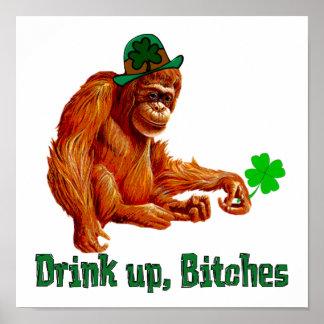 Bebida para arriba, ***** de B Póster