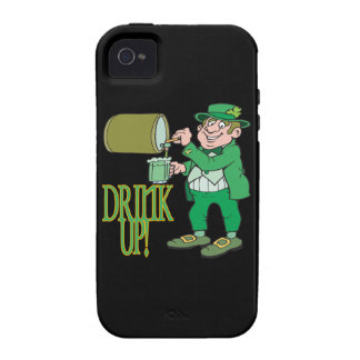 Bebida para arriba iPhone 4 carcasa