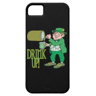Bebida para arriba iPhone 5 funda