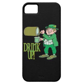 Bebida para arriba iPhone 5 carcasa