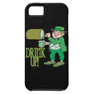 Bebida para arriba funda para iPhone 5 tough