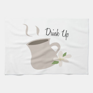 Bebida para arriba toallas