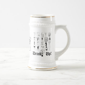 ¡Bebida para arriba! Stein Tazas De Café