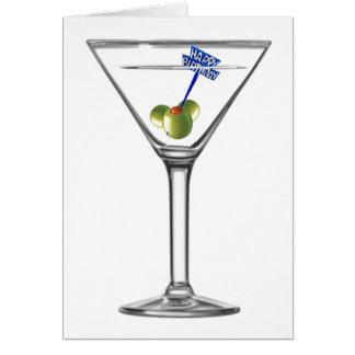 Bebida para arriba tarjeta de felicitación