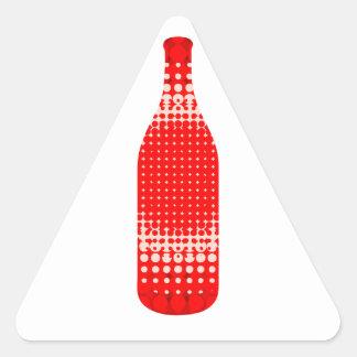 Bebida Pegatinas De Trianguladas