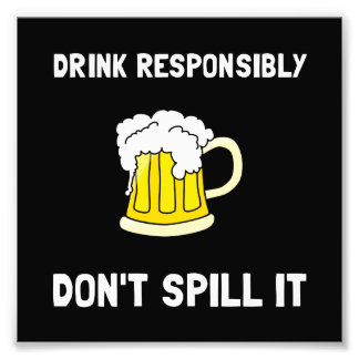 Bebida responsable cojinete