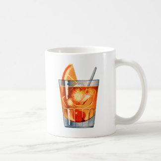 Bebida retra del cóctel del kitsch del vintage pas taza