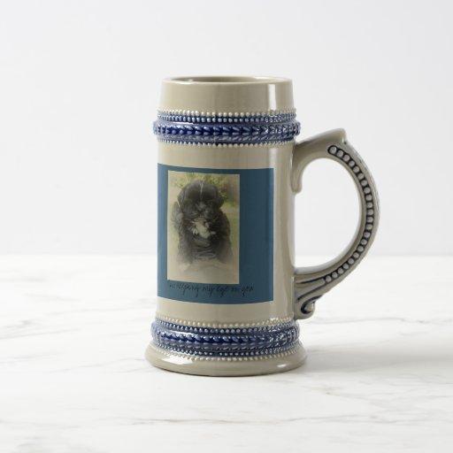 Bebida Stein con el perrito de Shih Tzu en cada la Tazas