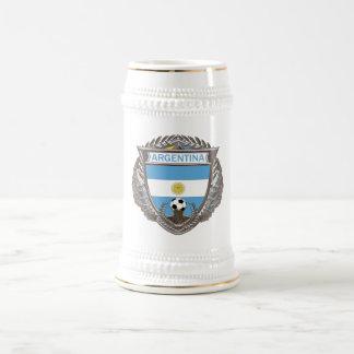 Bebida Stein del fútbol de la Argentina Taza De Café