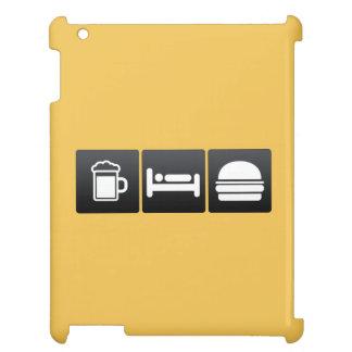 Bebida, sueño y cheeseburgers