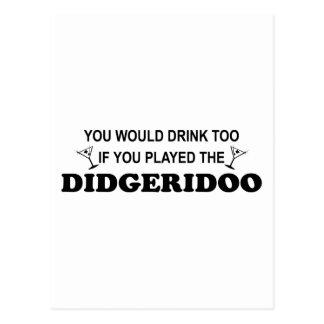 Bebida también - Didgeridoo Postal