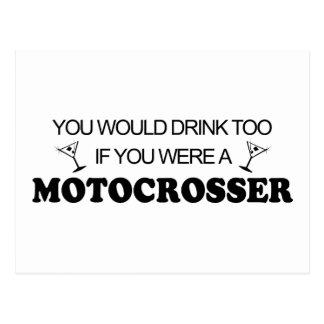 Bebida también - Motocrosser Postal