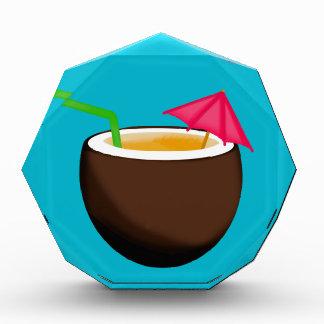 Bebida tropical del coco