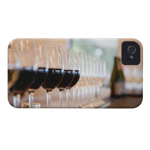 bebidas 2 de los cócteles de las bebidas iPhone 4 Case-Mate cárcasa