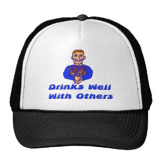 Bebidas bien con otras gorra
