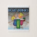 Bebidas del barco rompecabeza