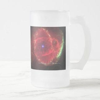 Bebidas del espacio taza de cristal