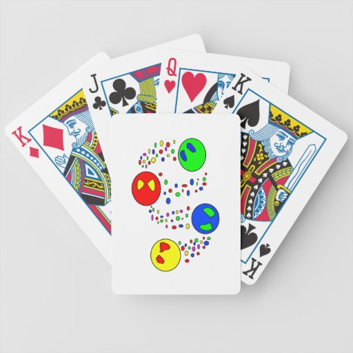 Bebidas espirituosas baraja cartas de poker