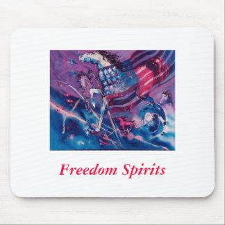 Bebidas espirituosas de la libertad alfombrilla de raton