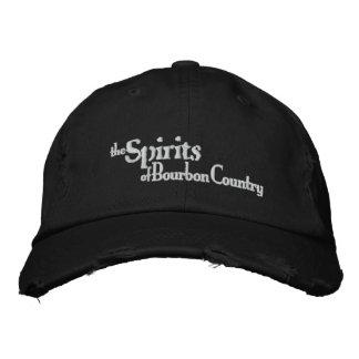 Bebidas espirituosas del gorra del país de Borbón Gorras Bordadas