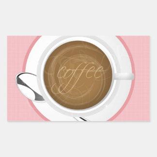 BEBIDAS FELICES BUEN MORNIN DEL CAFÉ DEL CAFÉ FEME RECTANGULAR ALTAVOZ