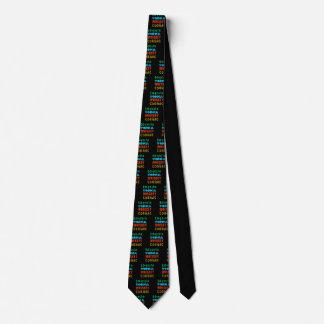 Bebidas que se calientan corbata personalizada