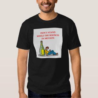 bebido camisas