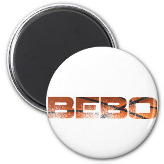 bebo cute 2 inch round magnet