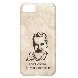 Bebo el café para su protección funda para iPhone 5C
