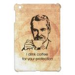 Bebo el café para su protección iPad mini cárcasa