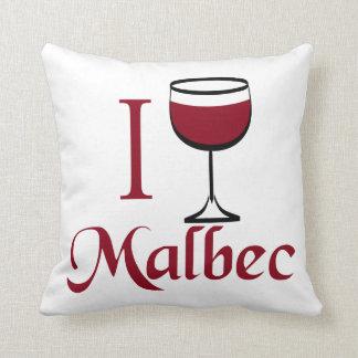 Bebo el vino del Malbec Cojines