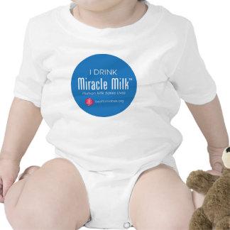 """""""Bebo la leche del milagro """" Trajes De Bebé"""