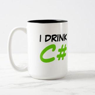 Bebo la taza de C#