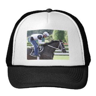 Bebo Morales training at Saratoga Trucker Hat