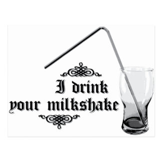 Bebo su Milkshake Postales